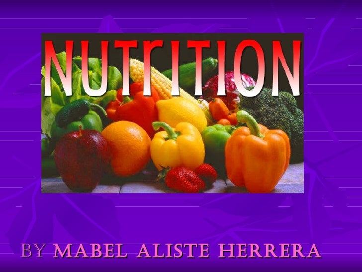 Nutrition by Mabel