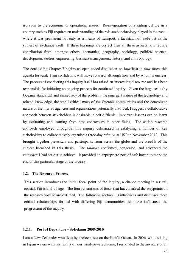 Phd thesis on sustainability