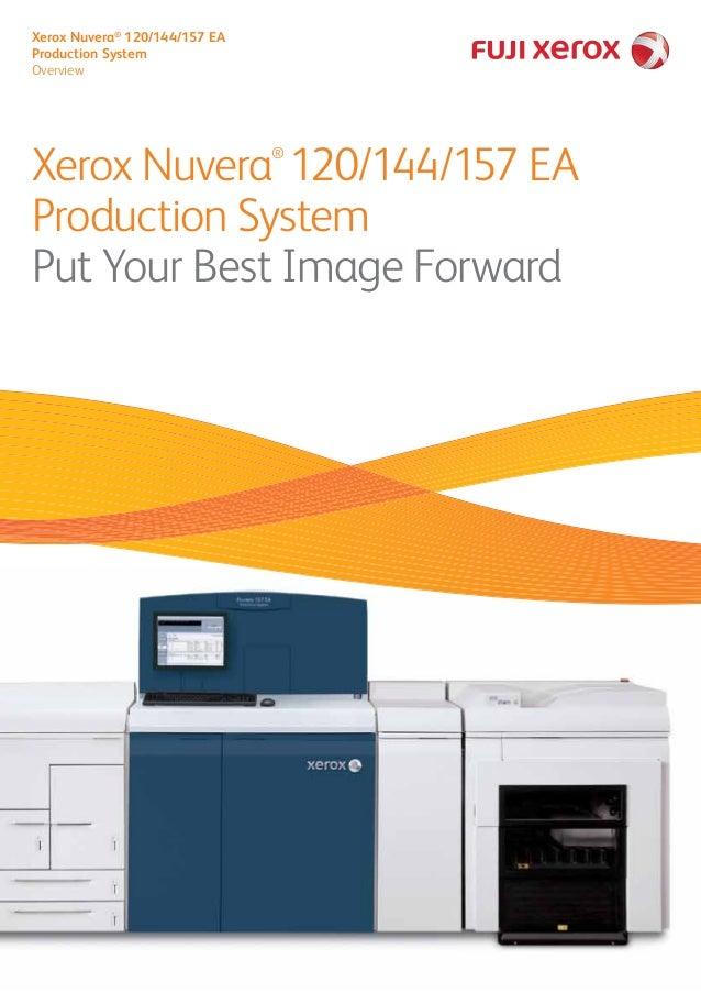 Xerox Nuvera® 120/144/157 EA  Production System