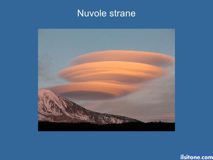 Nuvole Strane