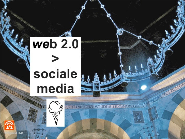 web 2.0                 >               sociale               media   Erfgoed 2.0