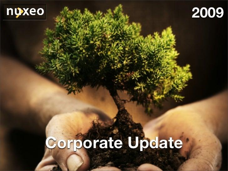 2009     Corporate Update