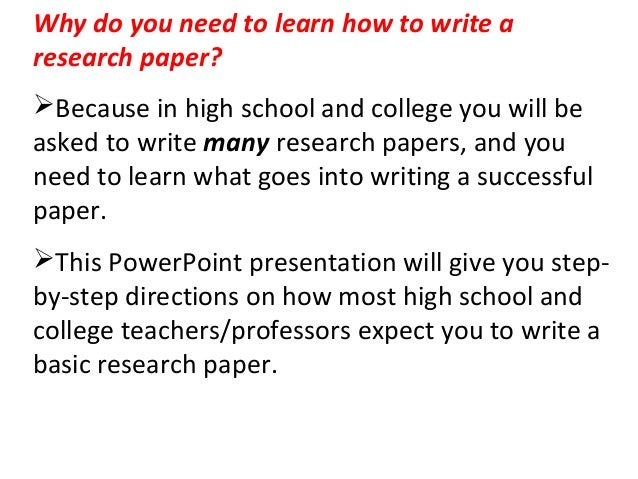 steps it takes to write a research essay