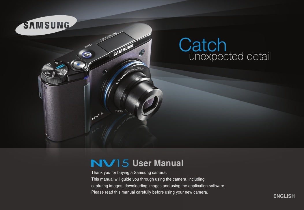 Samsung Camera NV15 User Manual