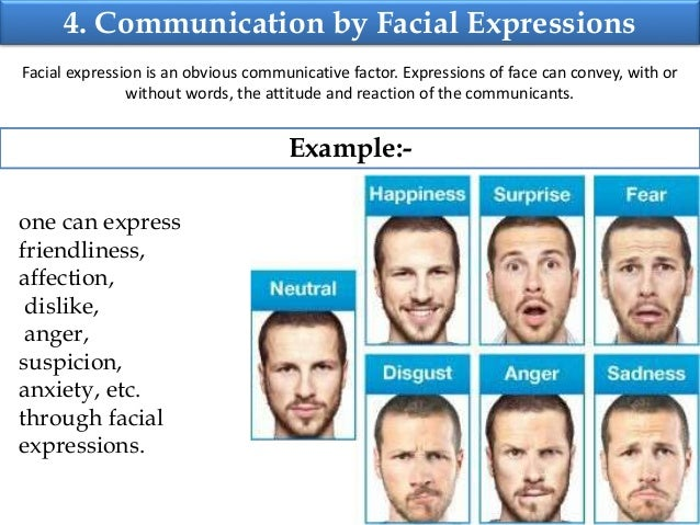 communication and facial expressions Facial expressions can explain a lot about what's going on in one's mind  communication skills activities what to say in a sympathy card insults and.