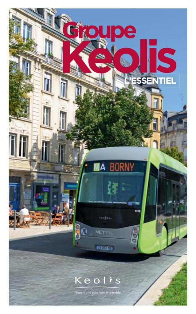 Groupe Keolis - L'Essentiel