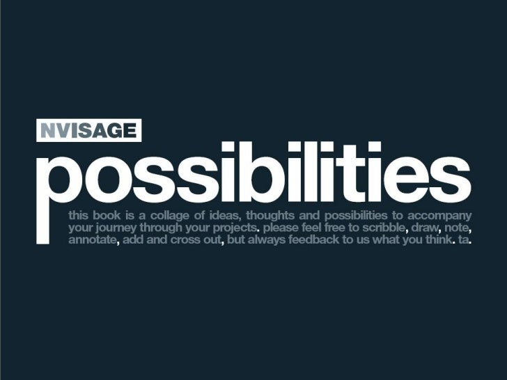 Nvisage possibilities 2011