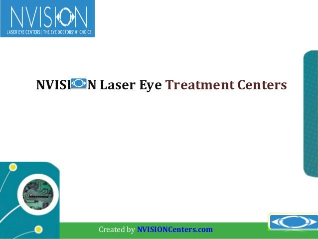 Nvision laser eye treatment centers