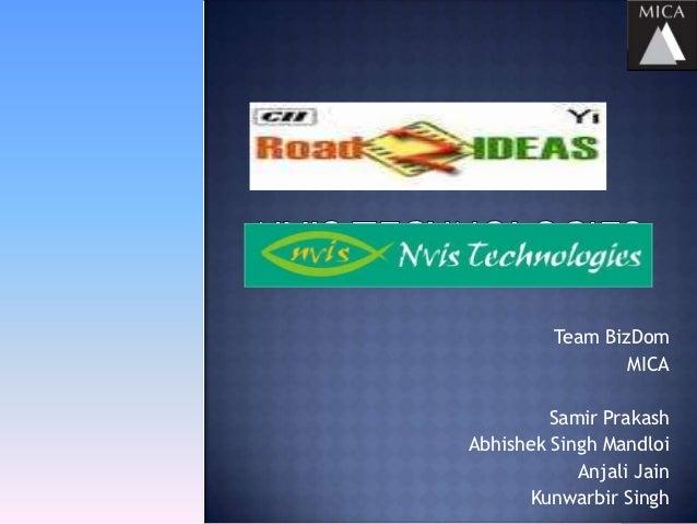 Nvis technologies_biz dom_2ndnov2012