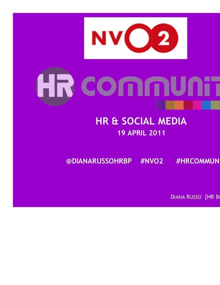NVO2 HR Community Handouts