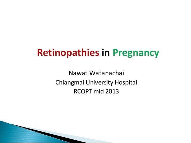 Nawat Watanachai Chiangmai University Hospital RCOPT mid 2013