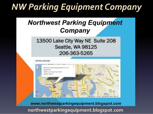 NW Parking Equipment Company northwestparkingequipment.blogspot.com