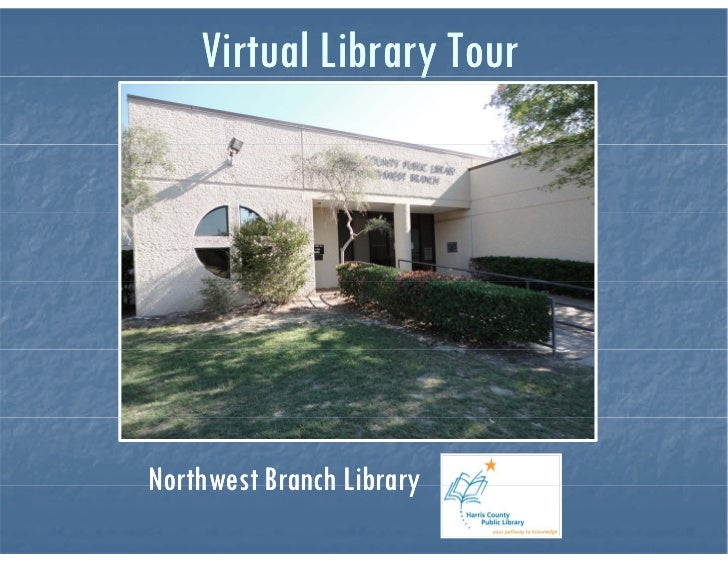 Northwest Branch Library Virtual Tour