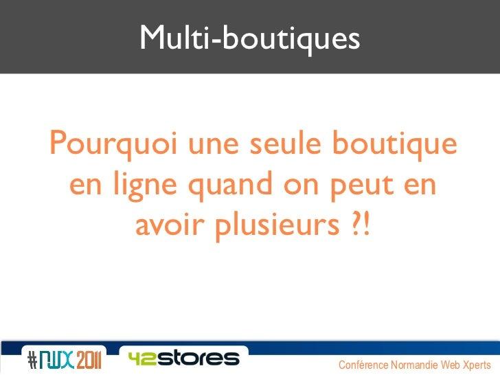NWX2011 - multi-boutique  - ecommerce