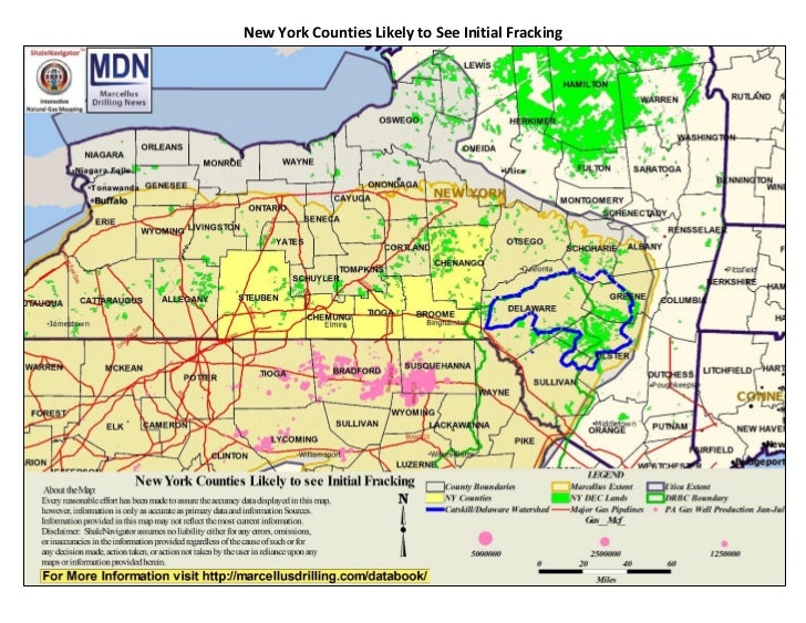 What's happening in New York state with fracking | Licking ...