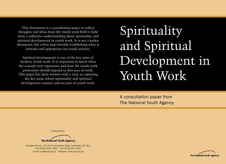 NYA Spirituality and Spiritual Development in Youth Work