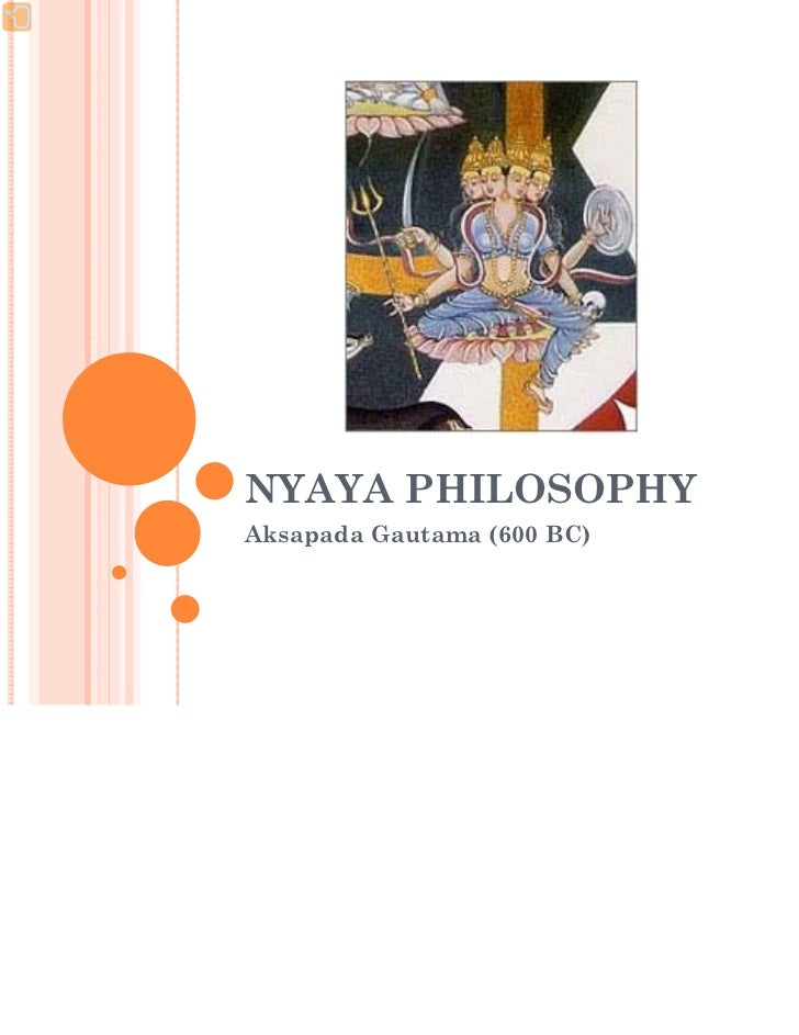 Nyaya philosophy ppt