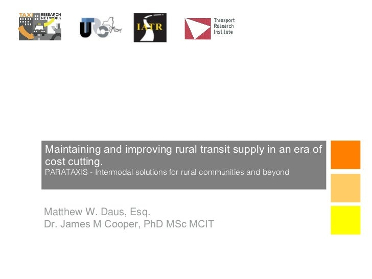 Maintaining and Improving Rural Transit Supply in an Era of Cost-Cutting