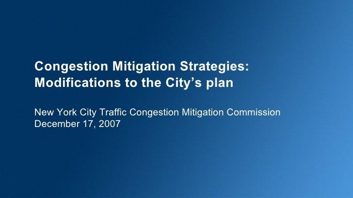 NYC Congestion Pricing Scenario Comparisons
