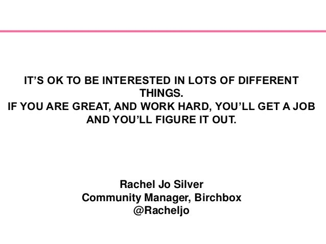 Rachel Jo Silver: Birchbx