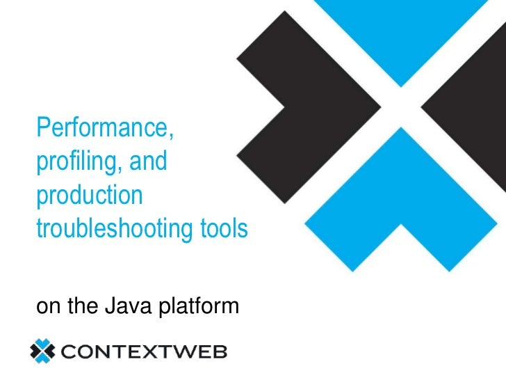 Performance, profiling, and production troubleshooting tools<br />on the Java platform <br />