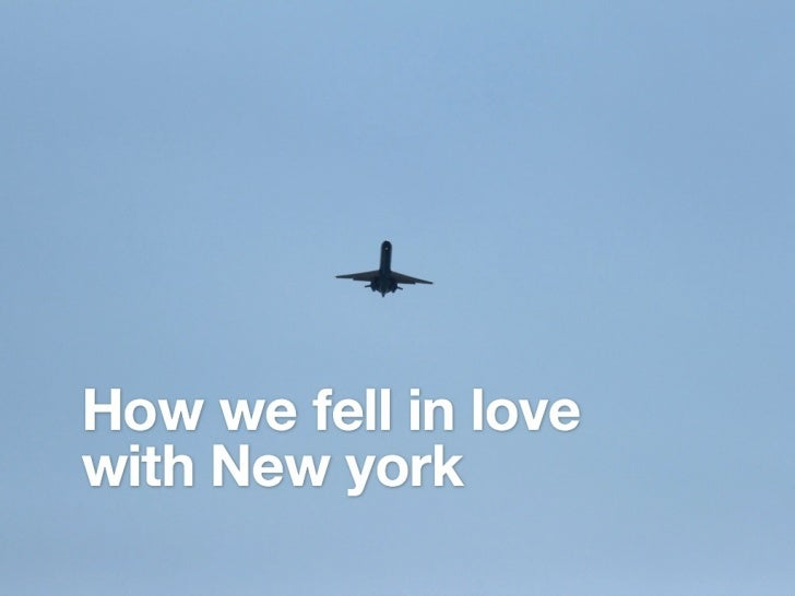 How we fell in love with NYC [dutch]