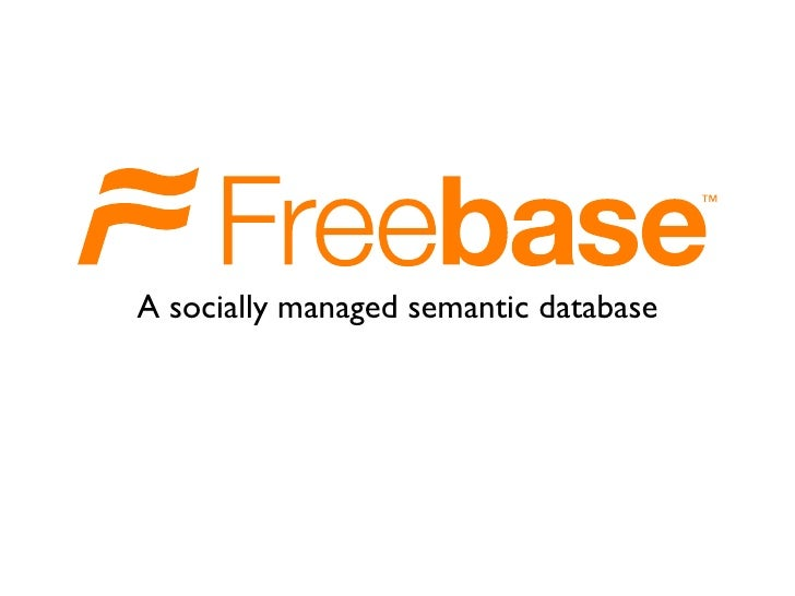 A socially managed semantic database