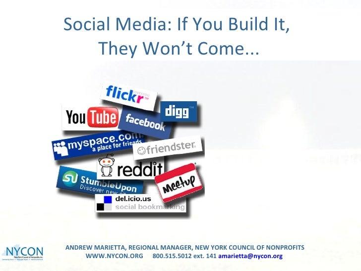 Nycon social media nyfa presentation