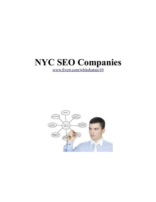 NYC SEO Companies www.fiverr.com/whitehatseo10