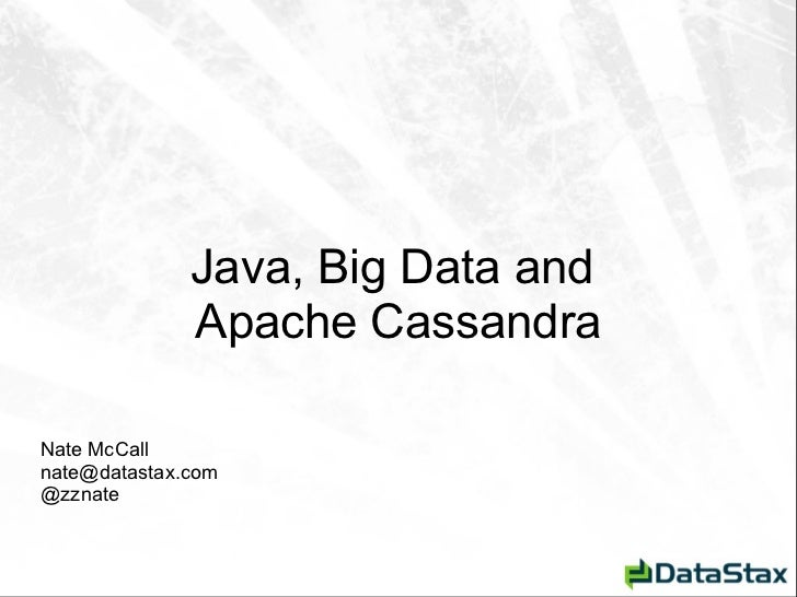 Nyc summit intro_to_cassandra