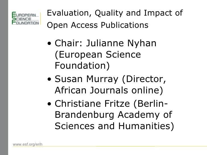 Berlin 6 Open Access Conference: Julianne Nyhan