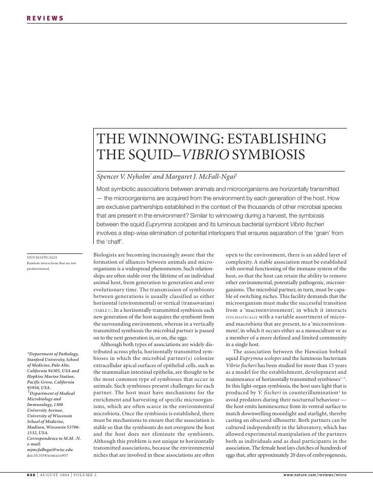 REVIEWS                                         THE WINNOWING: ESTABLISHING                                     THE SQUID–...