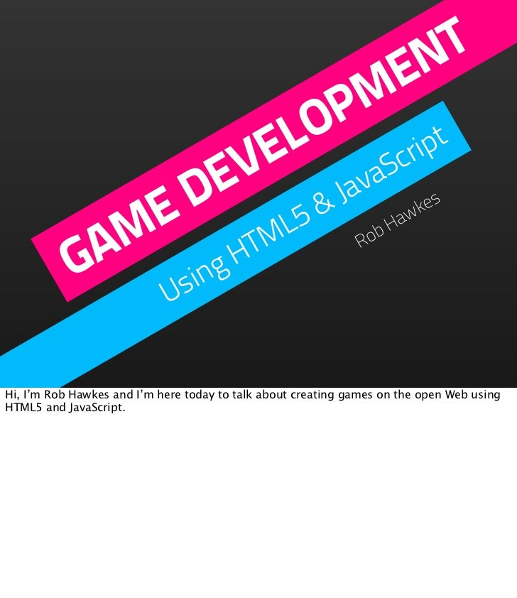NY HTML5 - Game Development with HTML5 & JavaScript
