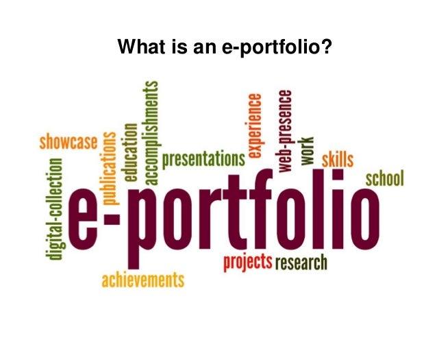 how to make an eportfolio on google