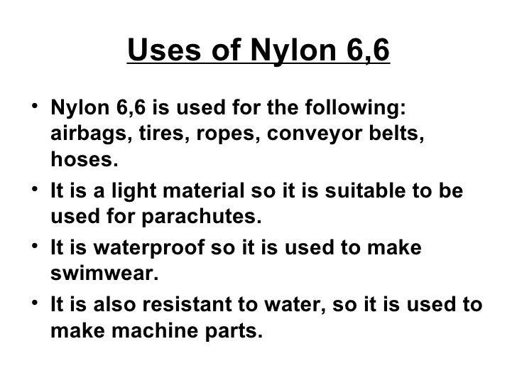 Nylon 6 6 Presentation
