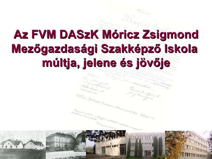 DASzK MGSZKI - Iskolánkról