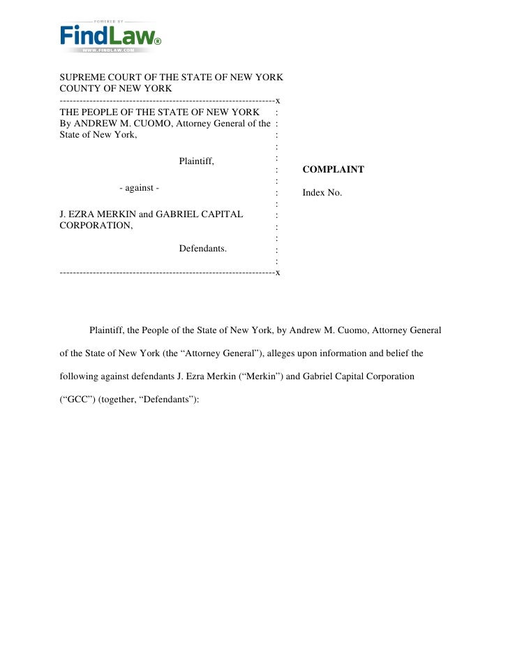 FindLaw : New York v. J. Ezra Merkin