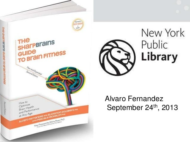 How to Optimize Brain Health and Performance at Any Age (New York Public Library talk)