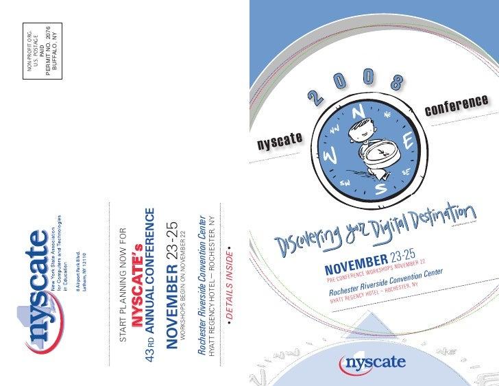 Nyscate '08 conf book