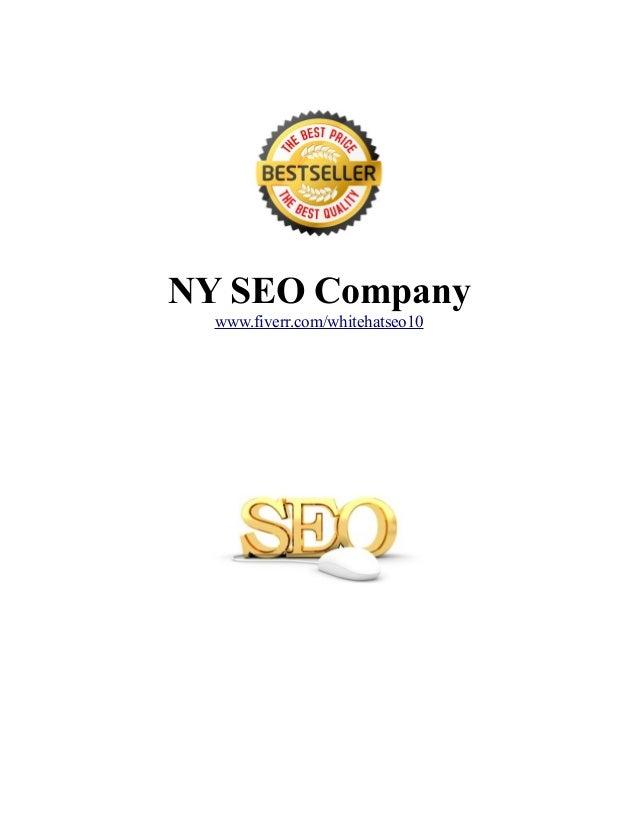 NY SEO Company www.fiverr.com/whitehatseo10