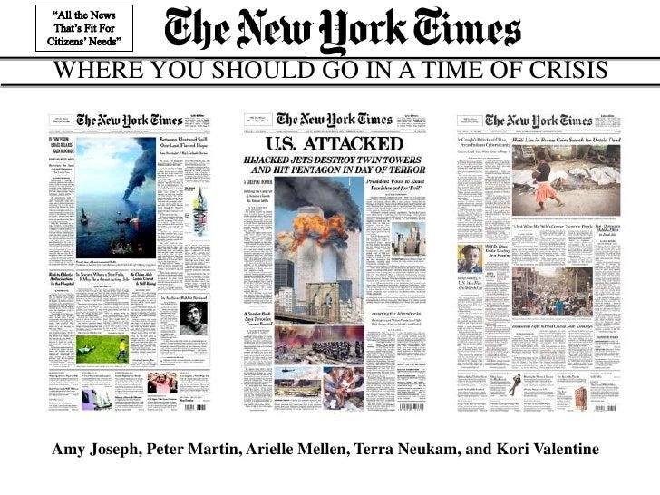 New York Times Final Presentation