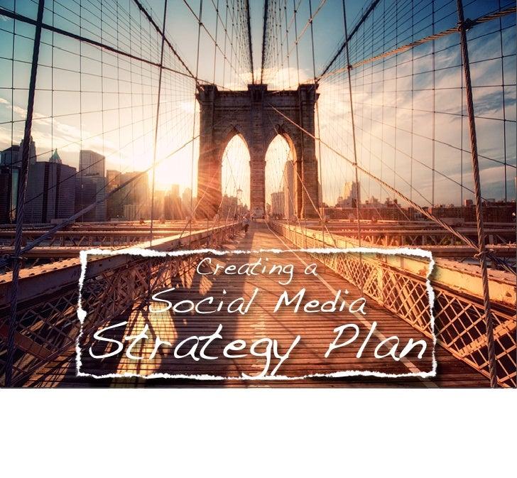 Creating a Social Media Strategy Plan