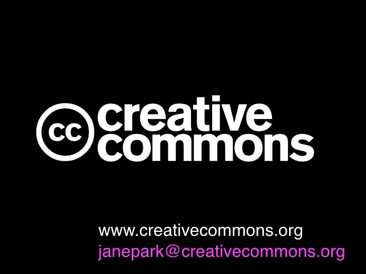 cwww.creativecommons.orgjanepark@creativecommons.org