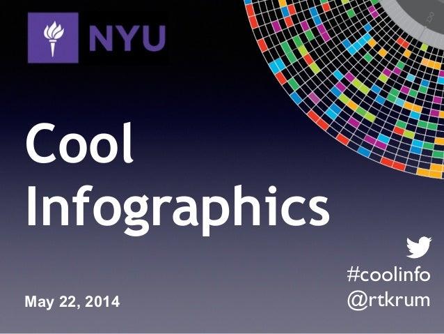 NYU Infographics Class Webinar May 2014