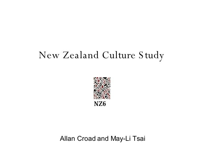 New Zealand Culture Study Allan Croad and May-Li Tsai NZ6