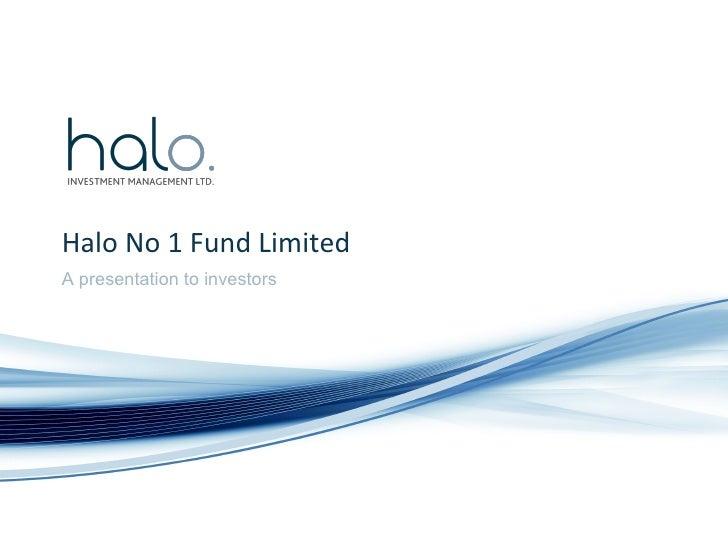 NZAngels Halo Fund 1
