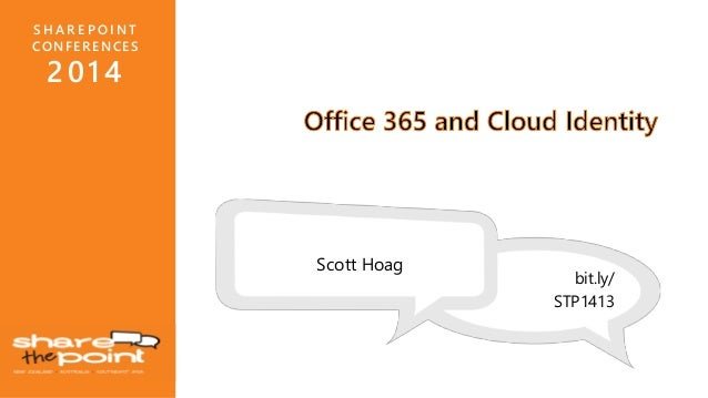 Office 365 and Cloud Identity – What Does It Mean For Me?