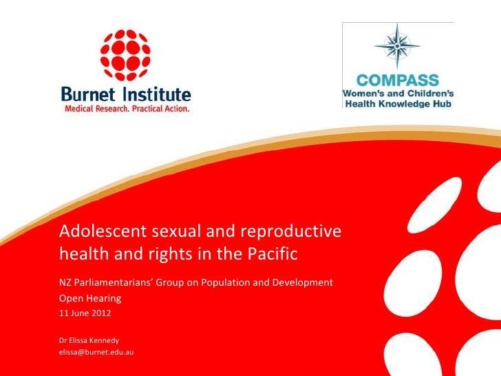 New Zealand Parliamentarians Group on Population and Development Presentation
