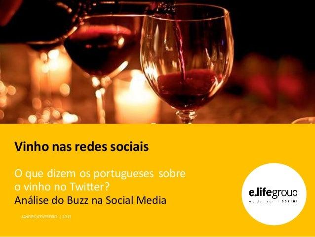 O que se diz sobre vinho no Twitter em Portugal?