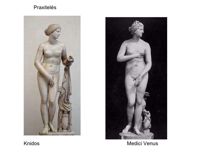 Knidos Medici Venus Praxitelés